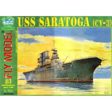 USS Saratoga, A3, 1:200