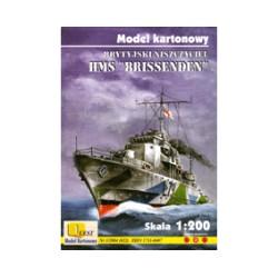 """HMS """"BRISSENDEN"""", 1:200"""
