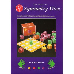 The puzzle of symmetry Dice, Gordon Woods