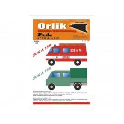 Ambulancia y camioneta. ZUK A15M y A16B, Dos modelos