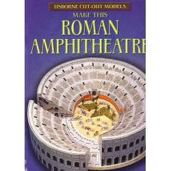 Make this Roman Amphitheatre. Construye este anfiteatro romano