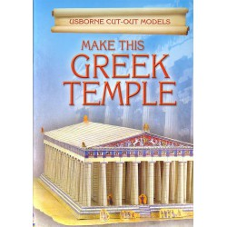 Make this Greek Temple. Construye este templo griego