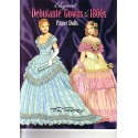 Elegant Debutante Gowns of the 1800s, Tom Tierney