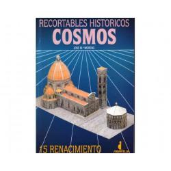 RENACIMIENTO, COSMOS Nº 15, Catedral de Florencia, recortables h