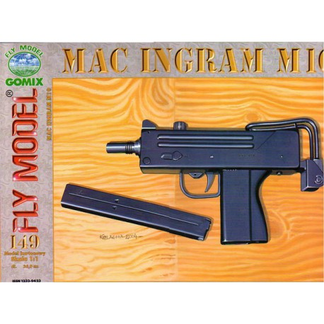 MAC INGRAM M10, 1:1, GOMIX