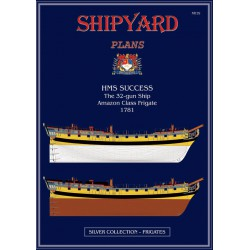 HMS Success, Planos. 1:96, Shipyard