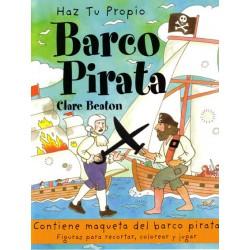 Haz tu propio barco pirata, Clare Beaton