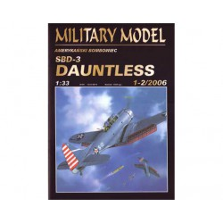 SBD-3 DAUNTLESS, 1:33, Halinski