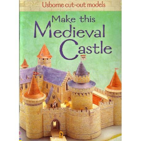 Make this Medieval Castle. Construye este castillo medieval