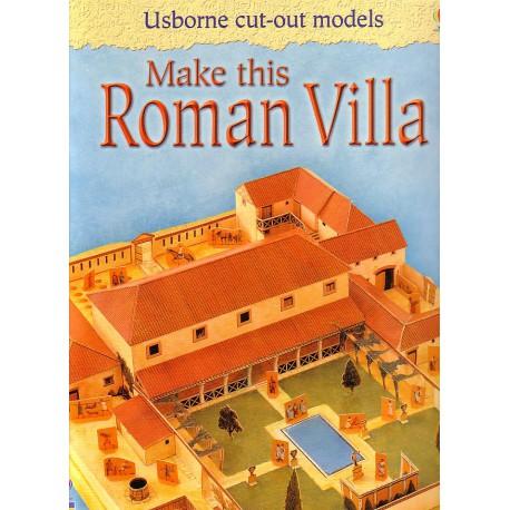 Make this Roman Villa. Construye esta Villa Romana