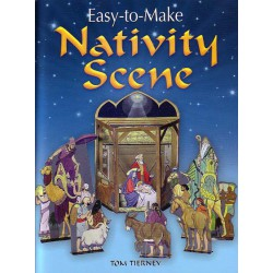 Nativity Scene, Easy to Make. Tom Tierney