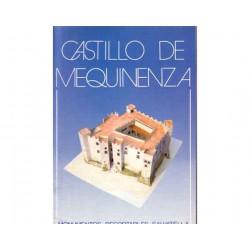Castillo de Mequinenza, monumentos recortables