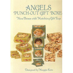 Angels, Punch-out gift boxes,