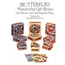 Butterflies, Punch-out gift boxes