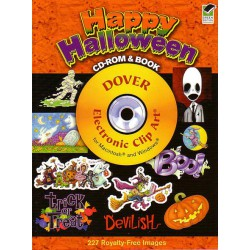 Happy Halloween, CD-ROM y BOOK.