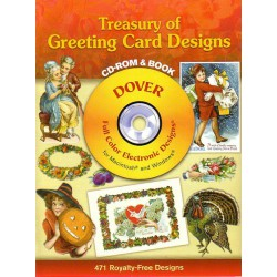 Treasury of Greeting Card Designs, CD-ROM y BOOK