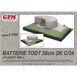 Batterie TODT, GPM, 1:144