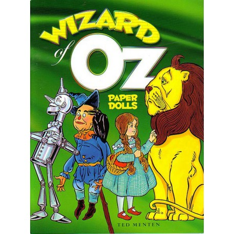 Wizard of Oz, Paper Dolls, Ted Menten