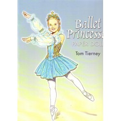 Ballet Princesses paper dolls, Tom Tierney