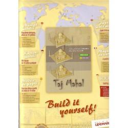 Taj Mahal, Paper Landmarks, Oro, precortado