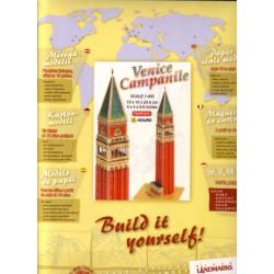 VENICE CAMPANILE, 1:400, Paper Landmarks, Color, Precortado