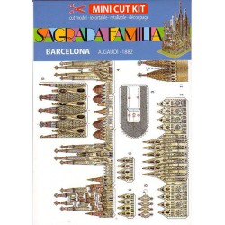 SAGRADA FAMILIA, Mini Cut Kit