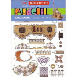 PARK GÜELL, Mini Cut Kit