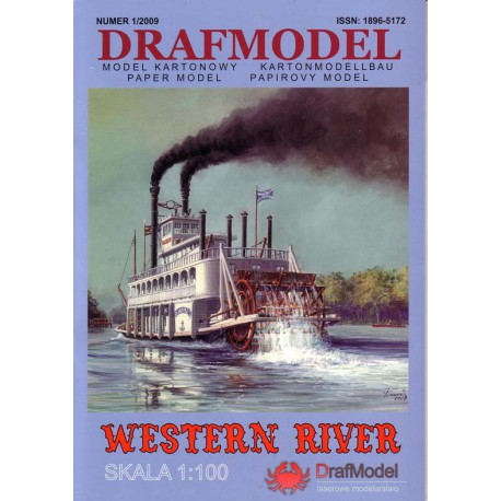 WESTERN RIVER. 1:100, DRAFMODEL