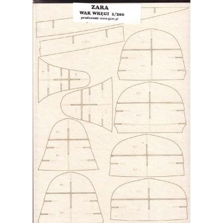 ZARA, WAK, 1:200, Laser frames