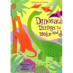 Dinosaur things to make and do. Cosas para hacer con Dinosaurios