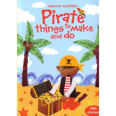 Pirate things to make and do. Cosas para hacer con Piratas