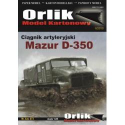 MAZUR D-350, Tractor de artilleria, 1:25, ORLIK