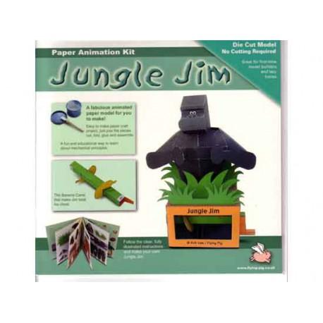 Recortables animados, Jungle Jim