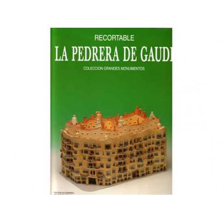 Recortables, grandes monumentos, La Pedrera de Gaudí. 1:180
