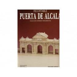 Recortables, grandes monumentos, Puerta de Alcalá, 1:200