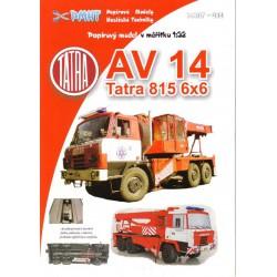 AV 14 Tatra 815 6x6. 1:32, PMHT