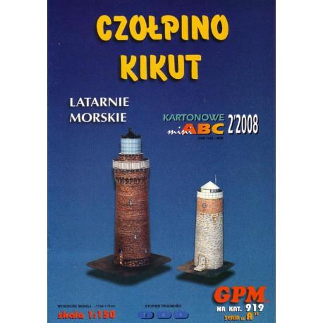 Faro, Latarnie Morskie, CZOLPINO KIKUT, 1:150, GPM