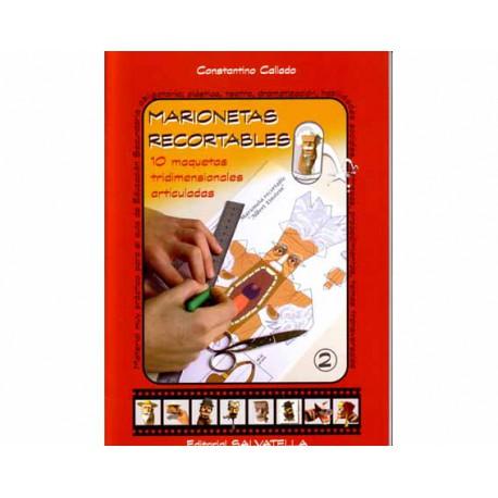 Marionetas recortables II. 10 maquetas articuladas