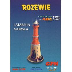 Faro, Latarnie Morska, ROZEWIE, 1:150, GPM