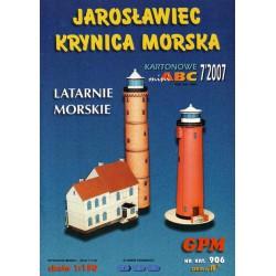 Faro, Latarnie Morskie, JAROSLAWIEC KRYNICA MORSKA, 1:150, GPM