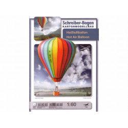 Hot Air Baloon, Maqueta recortable