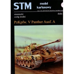 Pzkpfw. V Panther Ausf. A Panzer. 1:25, STM