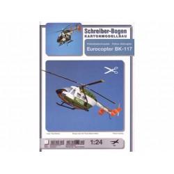 Eurocopter BK-117. Maquetas Recortables.
