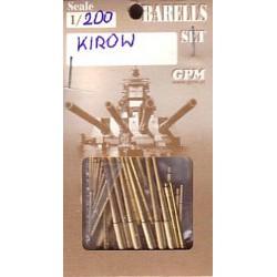 Kirov, cañones, GPM para OREL, 1:200