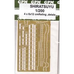 SHIRATSUYU, Set de detalle photoetched, GPM, 1:200