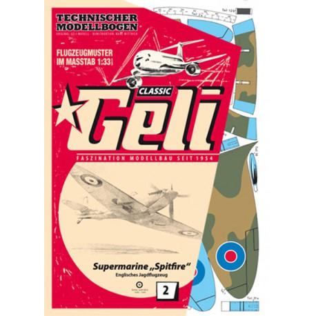 Supermarine Spitfire, GELI, 1:33