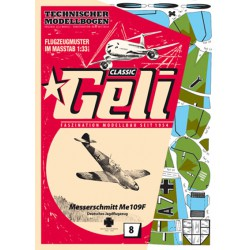 Messerschmitt Me109, GELI, 1:33