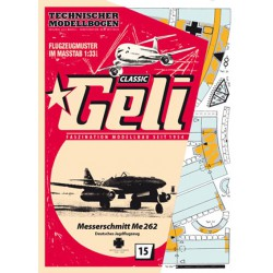 Messerschmitt Me262, GELI, 1:33