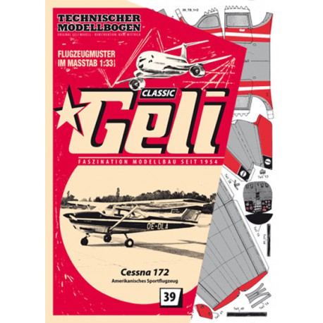 Cessna 172, GELI, 1:33