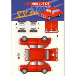SEAT 600, PAPETI, Mini Cut Kit